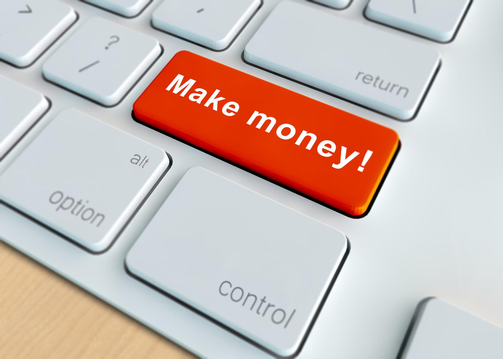 Make Money on Internet Key